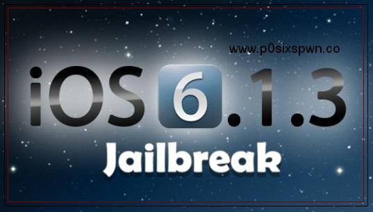 p0sixspwn download for Jailbreak iOS 6 1 3 to 6 1 6